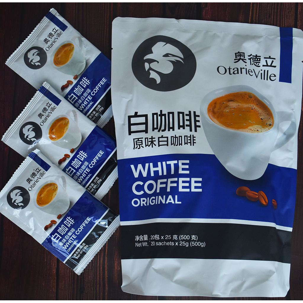 Otarie Ville Original White Coffee 20x25G